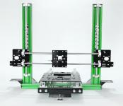 """3D Drucker Bausatz mechanisch """"Reptile Extension Reinforced"""" grün CNC"""