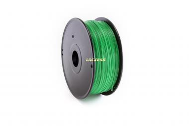 ABS Filament 1,75 mm, 1kg, grün (Signalgrün ähnlich RAL 6032), 3D-Drucker RepRap Prusa Makerbot Mendel