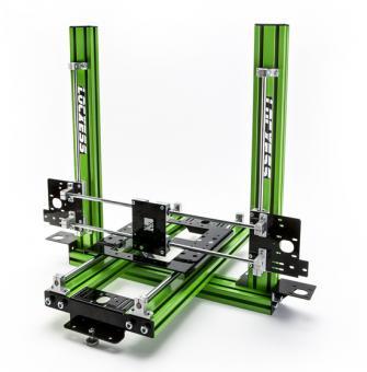 """3D Drucker Bausatz mechanisch """"Reptile Standard"""" grün CNC"""