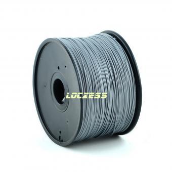 ABS Filament 1,75 mm, 1kg, silber, 3D-Drucker RepRap Prusa Makerbot Mendel