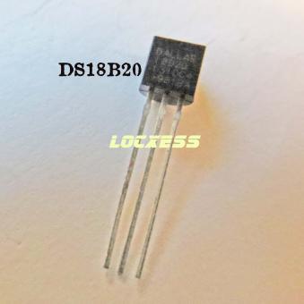 DS18B20 Dallas 18B20 Sensor 1-wire * -55 bis 125 C° * für Arduino - Bascom uvm