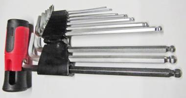 Innensechskant-Stift-Kugelkopf Schlüsselsatz