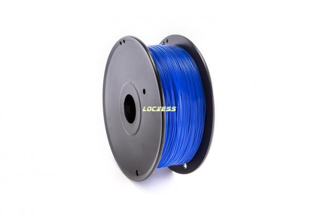 PLA Filament 1,75 mm, 1kg, blau (ultramarinblau ähnlich RAL 5002) 3D-Drucker RepRap Prusa Makerbot Mendel