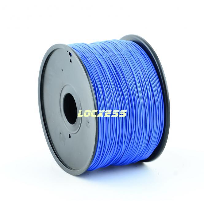 ABS Filament 1,75 mm, 1kg, blau, 3D-Drucker RepRap Prusa Makerbot Mendel