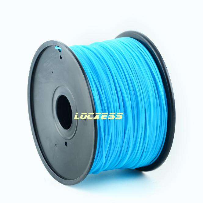 ABS Filament 1,75 mm, 1kg, cyan, 3D-Drucker RepRap Prusa Makerbot Mendel