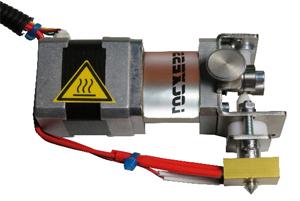 Getriebe-Extruder links 1,75 mm 0,4 mm Düse