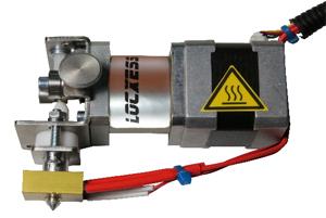 Getriebe-Extruder rechts 1,75 mm 0,4 mm Düse