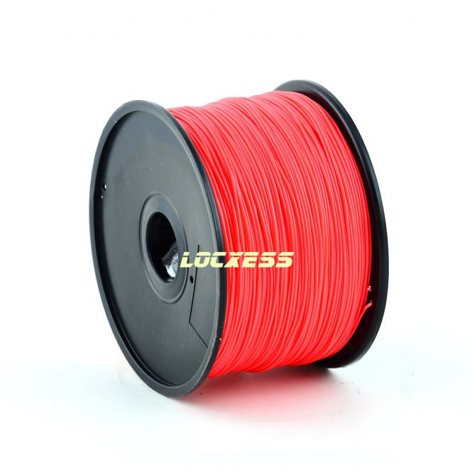 ABS Filament 3,00 mm, 1kg, rot, 3D-Drucker RepRap Prusa Makerbot Mendel
