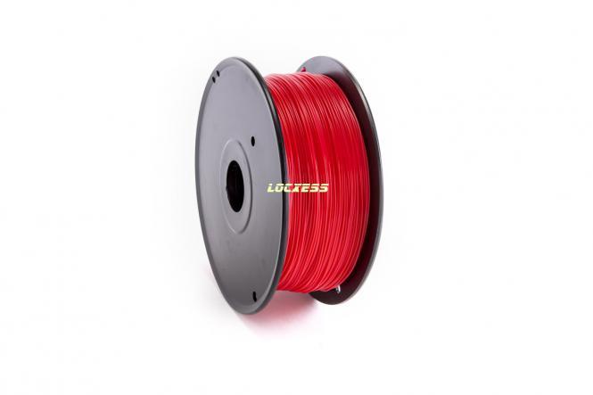 ABS Filament 1,75 mm, 1kg, Orientrot, ähnlich RAL 3031, 3D-Drucker RepRap Prusa Makerbot Mendel