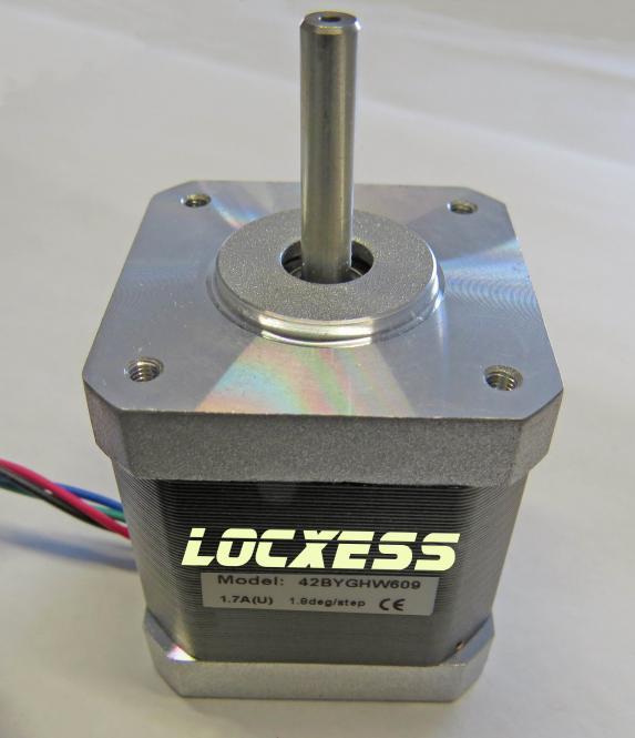 Nema 17 Schrittmotor, 42BYGHW609 mit 1,7A 3D Drucker, RepRap, CNC uvm.