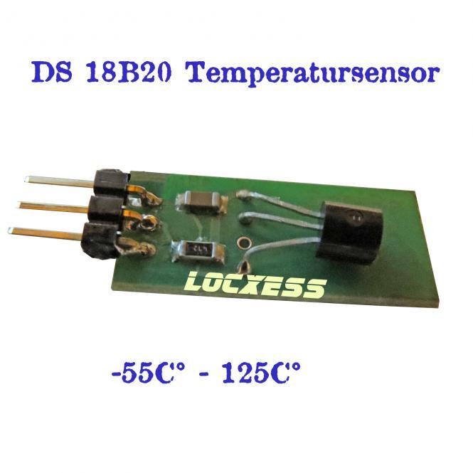 18B20 Dallas Sensor Board für Arduino Bascom uvm