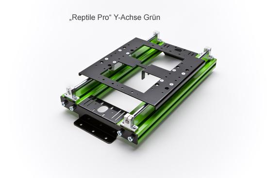 """""""Reptile Pro/Ext"""" Y-Achse Grün Bausatz"""