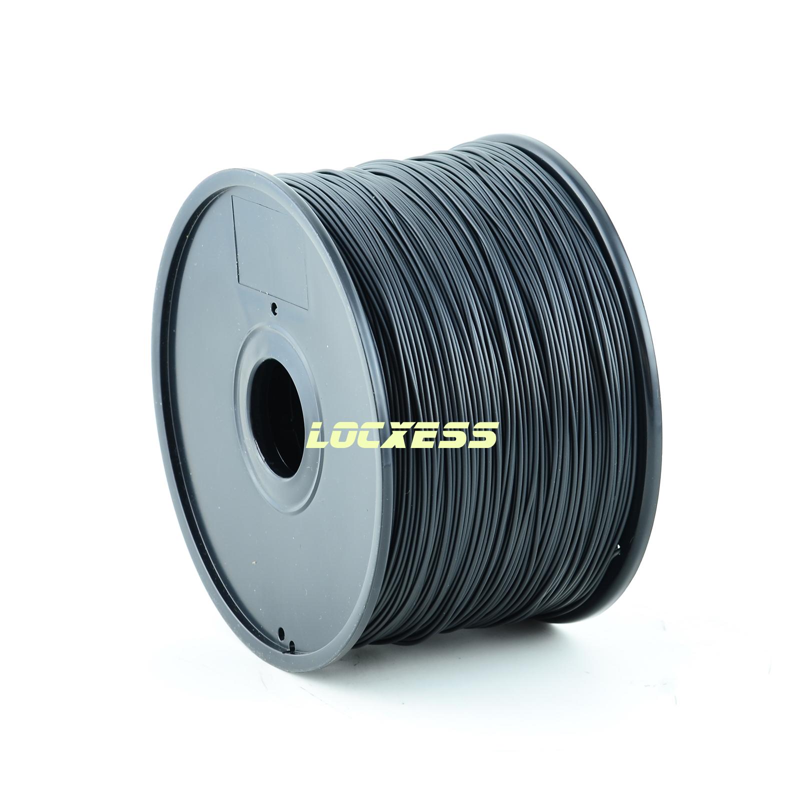 locxess trading abs filament 1 75 mm 1kg schwarz 3d drucker reprap prusa makerbot mendel. Black Bedroom Furniture Sets. Home Design Ideas
