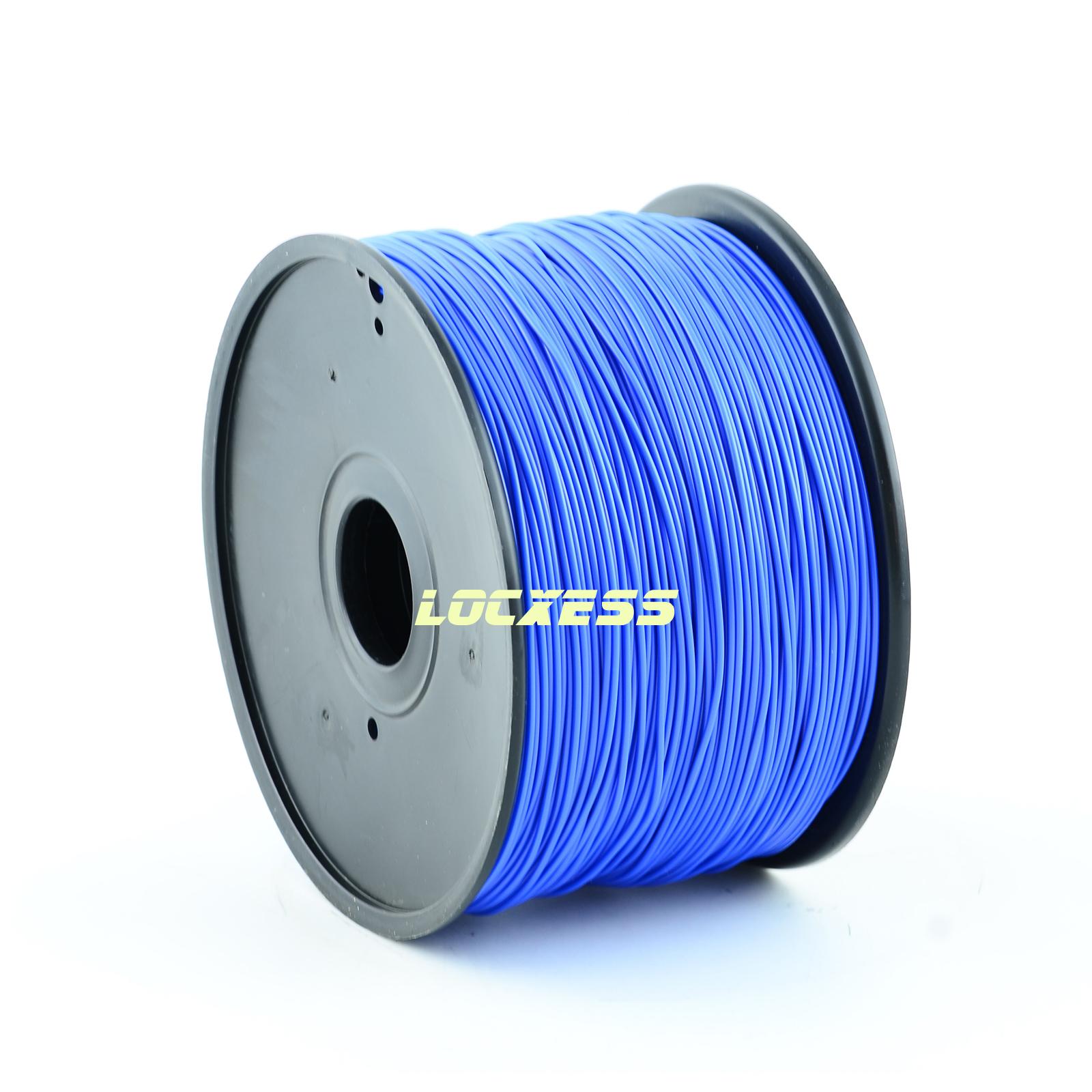 locxess trading pla filament 3 00 mm 1kg blau 3d drucker reprap prusa makerbot mendel. Black Bedroom Furniture Sets. Home Design Ideas
